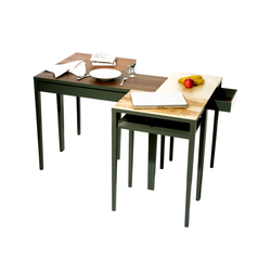 Patches tables | Mesas comedor | Judith Seng