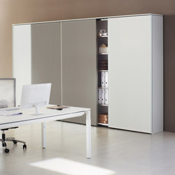 Front running door cupboard system glider | Armadi | ophelis