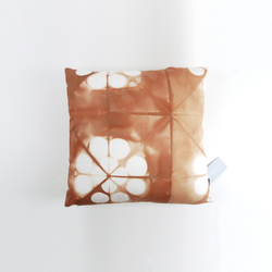 Tie & Dye Cercles Terracotta | Coussins | Chiccham