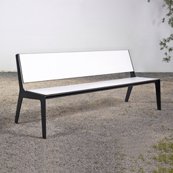 Bench on_08 | Garden benches | Silvio Rohrmoser