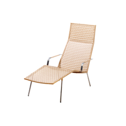 Straw Chaiselongue | Chaise longue | Cane-line