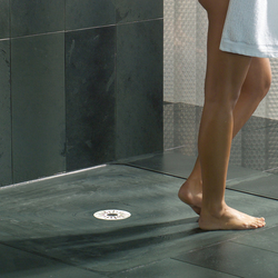 Floor drains for one-piece stone shower trays | Sumideros para baños | DALLMER