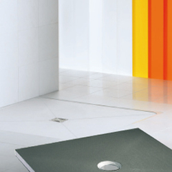 CeraFundo shower underlay | Plate drains | DALLMER