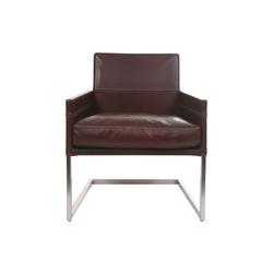 hochwertige sessel mit freischwingergestell auf architonic. Black Bedroom Furniture Sets. Home Design Ideas