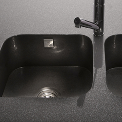 Silestone integrity sinks model due kitchen sinks from for Silestone kitchen sinks