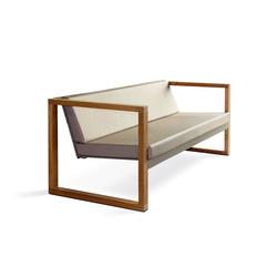 Cima Lounge Banca Teak | Sofás de jardín | FueraDentro