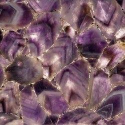 Prexury Amethyst | Lastre minerale composito | Cosentino