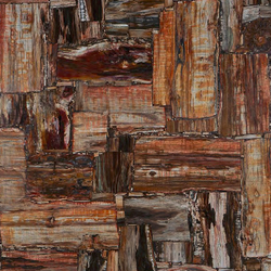 Prexury Retro Petrified Wood | Mineral composite panels | Cosentino