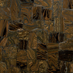 Prexury Retro Tiger Iron | Mineral composite panels | Cosentino