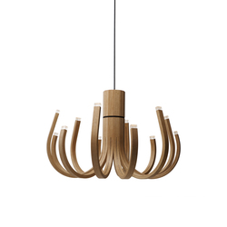 June Chandelier | Suspended lights | Nikari
