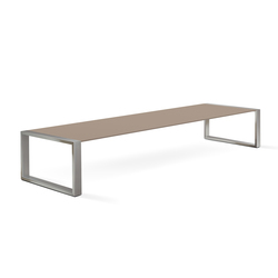 Cima Lounge Tabla 200 Low Table | Mesas de centro de jardín | FueraDentro