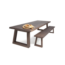 Slide Dining Table Charcoal | Tables de restaurant | Odesi