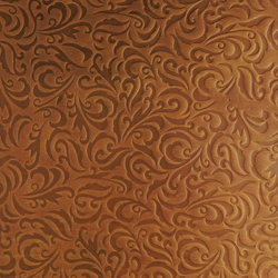 Tactile Amber lily | Azulejos de pared de cuero natural | Nextep Leathers