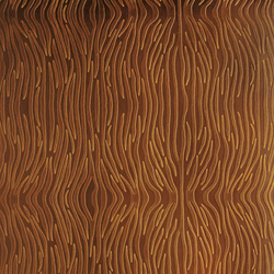 Tactile Amber zebra | Natural leather wall tiles | Nextep Leathers