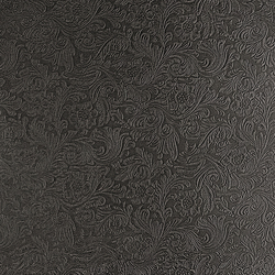 Tactile Slate damask | Azulejos de pared de cuero natural | Nextep Leathers