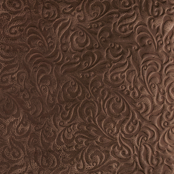 Tactile Moresque lily | Azulejos de pared de cuero natural | Nextep Leathers