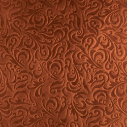 Tactile Mahogany lily | Natural leather wall tiles | Nextep Leathers