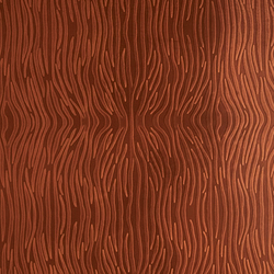 Tactile Mahogany zebra | Natural leather wall tiles | Nextep Leathers