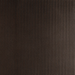 Tactile Choco braid | Natural leather wall tiles | Nextep Leathers