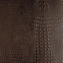 Tactile Choco cayman | Azulejos de pared de cuero natural | Nextep Leathers