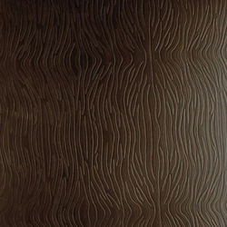 Tactile Choco zebra | Azulejos de pared de cuero natural | Nextep Leathers