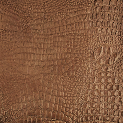 Tactile Ivory cayman | Azulejos de pared de cuero natural | Nextep Leathers