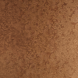 Tactile Ivory damask | Azulejos de pared de cuero natural | Nextep Leathers