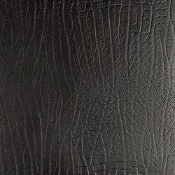 Tactile Black elefant | Natural leather wall tiles | Nextep Leathers