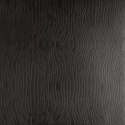 Tactile Black zebra | Azulejos de pared de cuero natural | Nextep Leathers