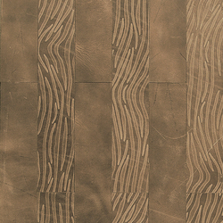 Kaleidos Boiserie Ivory | Natural leather wall tiles | Nextep Leathers