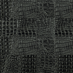 Kaleidos Mosaics black-cayman-tozzetti | Natural leather wall tiles | Nextep Leathers