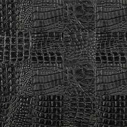 Kaleidos Mosaics black-cayman-tozzetti | Azulejos de pared de cuero natural | Nextep Leathers