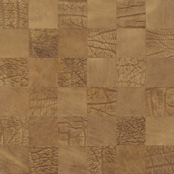 Kaleidos Mosaics ivory-elefant-chips | Natural leather wall tiles | Nextep Leathers