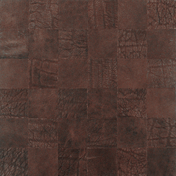 Kaleidos Mosaics moresque-elefant-chips | Natural leather wall tiles | Nextep Leathers