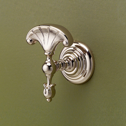 Chelsea fan-shaped robe hook | Towel hooks | Devon&Devon
