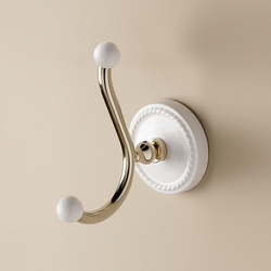 Dorothy double robe hook | Towel hooks | Devon&Devon