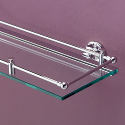 First Class Glass shelf with border | Shelves | Devon&Devon