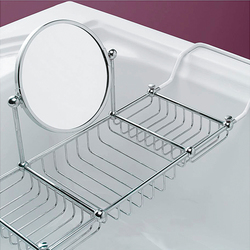 First Class Bathtub rack with mirror | Soap holders / dishes | Devon&Devon