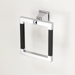 Time Black Handtuchring | Handtuchhalter | Devon&Devon