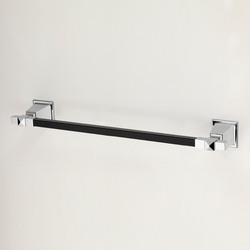 Time Black Towel-rail | Towel rails | Devon&Devon