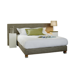 Sleeping Systems Collection Prestige | Headboard Cube wide | Double beds | Treca Paris