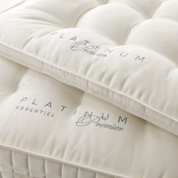 Sleeping Systems Collection Platinum | Mattress topper Premier | Mattress toppers | Treca Interiors Paris