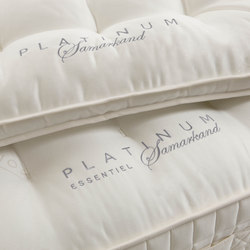 Sleeping Systems Collection Platinum| Mattress topper Samarkand | Mattress toppers | Treca Paris