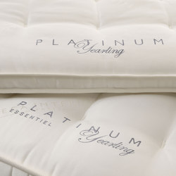 Sleeping Systems Collection Platinum | Mattress Essentiel Yearling | Mattresses | Treca Interiors Paris