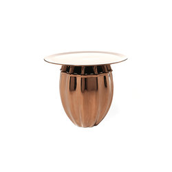Oppiacei Papaver gold | Side tables | Skitsch by Hub Design