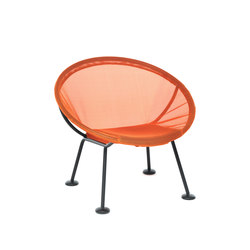Take Off | lounge chair orange | Sillones de jardín | Skitsch by Hub Design