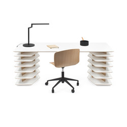 Strates Desk | Escritorios individuales | OBJEKTEN