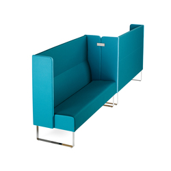 Monolite Compartment | Modular seating elements | Materia