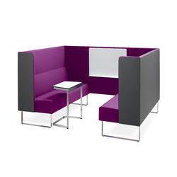 Monolite corner sofa | Brainstorming / Short meetings | Materia