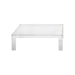 Invisible table low | Tavolini bassi | Kartell